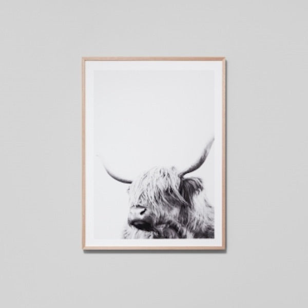 Highland Friend Grey Print