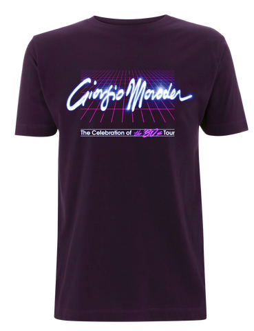 'Grid' T-Shirt (Purple)