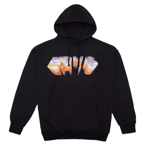 CHROME HOODIE (BLACK) + DIGITAL ALBUM