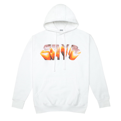 CHROME HOODIE (WHITE) + DIGITAL ALBUM
