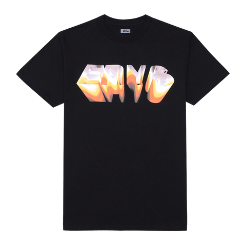 CHROME T-SHIRT (BLACK) + DIGITAL ALBUM
