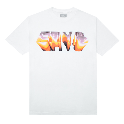 CHROME T-SHIRT (WHITE) + DIGITAL ALBUM
