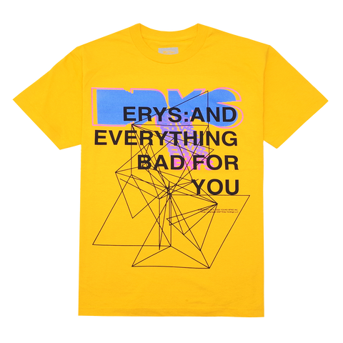 EVERYTHING T-SHIRT (YELLOW) + DIGITAL ALBUM