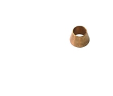 Collet Cone, Brass; Pkg of 5