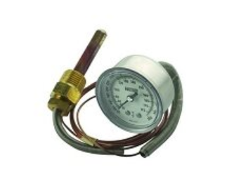 Pelton & Crane Temperature Gauge , OCM & OCR