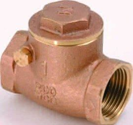 Brass Swing Check Valve, 1