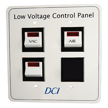 Low Voltage Control Panel, Triple Switch