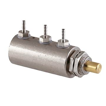 Pilot Actuated Needle Valve, 2-Way, Normally Closed