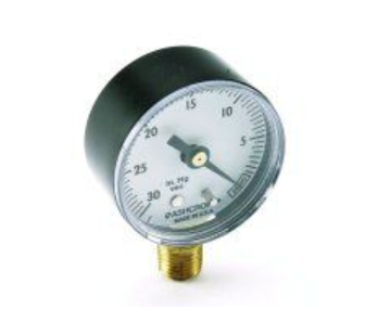 Vacuum Gauge, Bottom Mount - (DCI-7268)