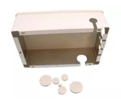 Junction Box, Standard, Housing & Cover Only, Gray