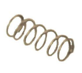 Compression Spring, .88 x .420 OD x .037 Wire Dia.; Pkg of 10