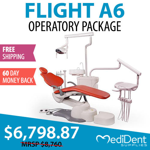 Flight A6 Operatory Package - Dental Chair Package