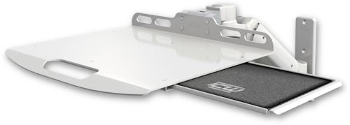 Laptop Mounts-Ultra 180 Arm Wall Mount Laptop Tray