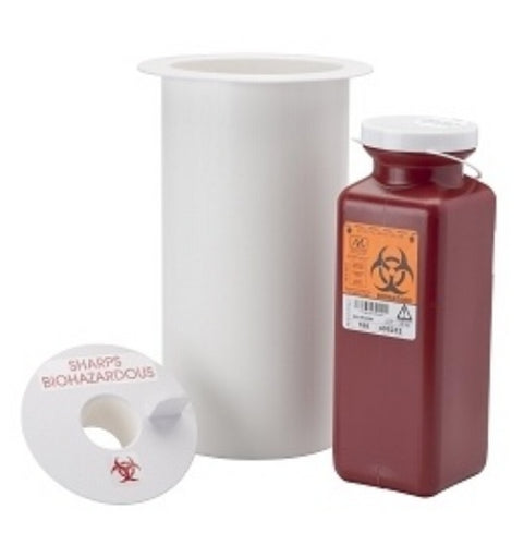 Sharps Container, Counter Mount