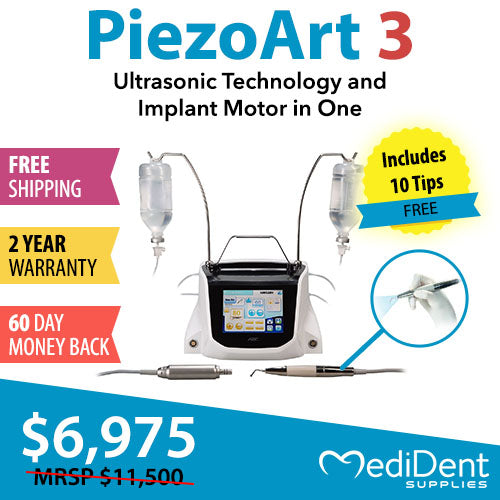 PiezoArt 3 - Ultrasonic Technology and Implant Motor in One