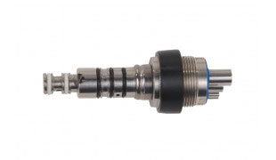 Swivel Couplers -- 4 Hole Non-optic Swivel Connector Multiflex Type