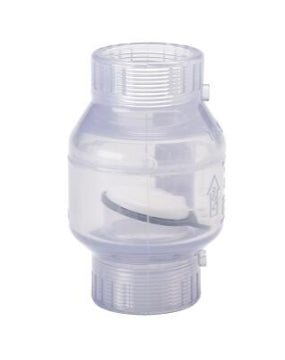 Threaded PVC Swing Check Valve, 1 1/2