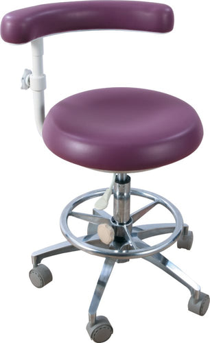 Deluxe Dental Assistant Stool