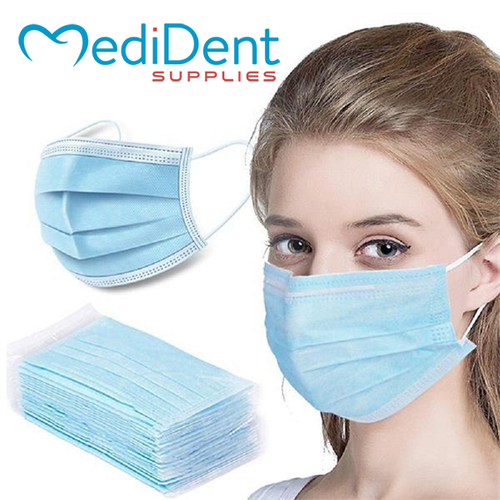 Disposable 3-ply Civilian Face Mask (25 pcs/bag)