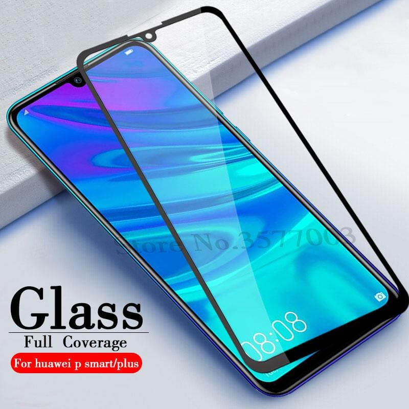 10D Full-screen Cover Arc Surface Hard Edge Glued Tempered Film Huawei Mate 10 Lite/Honor 8X/P Smart/P Smart(2019)/P Smart Plus(2019)
