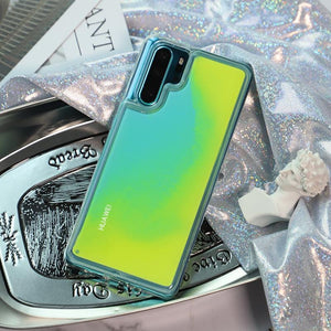 Dynamic Noctilucent Quicksand Phone Case for HUAWEI P20