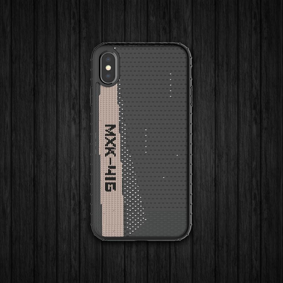 Fabricated Zebra Print Phone Case For iPhone X/XS/XR/XS MAX
