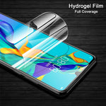 Full screen covering hydrogel for Huawei P30 P30pro P30lite Film artifact Front back