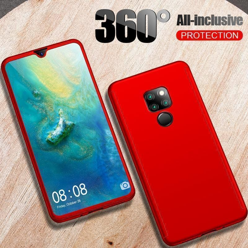 Case For HUAWEI Mate 20 ProLuxury Hard PC 360 Full Cover With Surface soft film Protective Back Cover for HUAWEI Mate 20/Mate 20 Pro