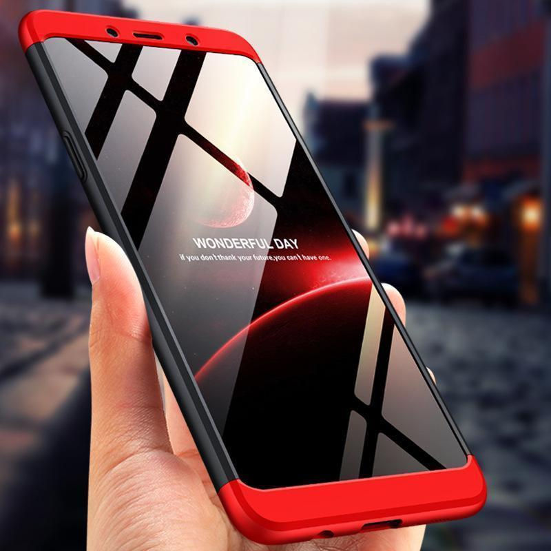 3 in 1 Double Dip 360° Full Body Protective Case for Samsung Galaxy A9(2018)