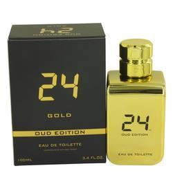 24 Gold Oud Edition Eau De Toilette Concentree Spray (Unisex) By ScentStory - Fragrance JA