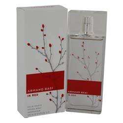 Armand Basi In Red Eau De Toilette Spray By Armand Basi - Fragrance JA