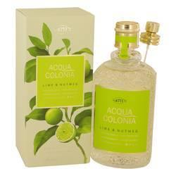 4711 Acqua Colonia Lime & Nutmeg Eau De Cologne Spray By Maurer & Wirtz - Fragrance JA
