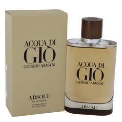 Acqua Di Gio Absolu Eau De Parfum Spray By Giorgio Armani - Fragrance JA