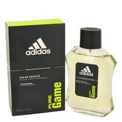 Adidas Pure Game Eau De Toilette Spray By Adidas - Fragrance JA