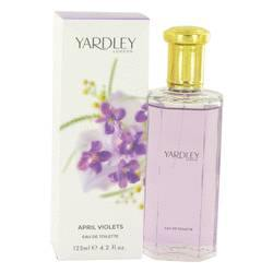 April Violets Eau De Toilette Spray By Yardley London - Fragrance JA