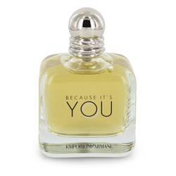 Because It's You Eau De Parfum Spray (Tester) By Giorgio Armani - Fragrance JA