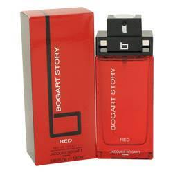 Bogart Story Red Eau De Toilette Spray By Jacques Bogart - Fragrance JA