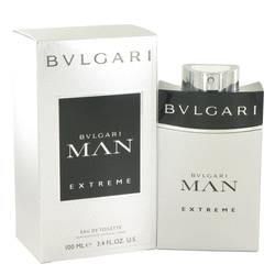 Bvlgari Man Extreme Eau De Toilette Spray By Bvlgari-Fragrance JA
