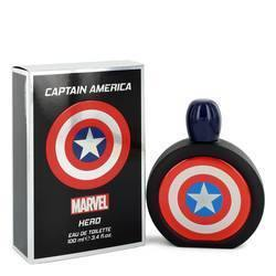 Captain America Hero Eau De Toilette Spray By Marvel - Fragrance JA