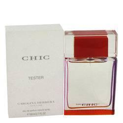 Chic Eau De Parfum Spray (Tester) By Carolina Herrera - Fragrance JA