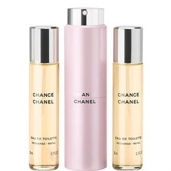Chance Mini EDT Spray + 2 Refills By Chanel