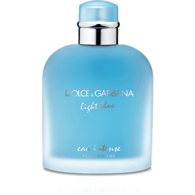 DOLCE AND GABBANA light blue intense men cologne