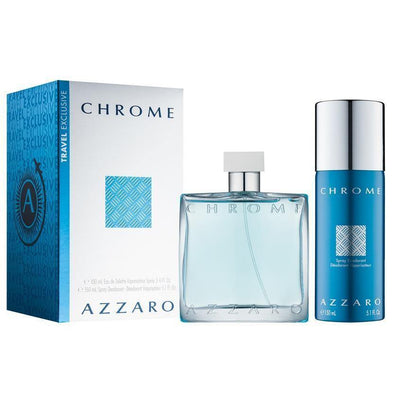 Eau De Toilette Spray  Deodorant Spray Chrome by Azzaro