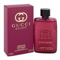 Gucci Guilty Absolute Eau De Parfum Spray By Gucci - Fragrance JA