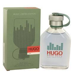 Hugo Eau De Toilette Spray (Limited Edition Music Bottle) By Hugo Boss - Fragrance JA