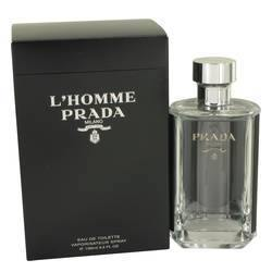 Prada L'homme Eau De Toilette Spray By Prada-Fragrance JA