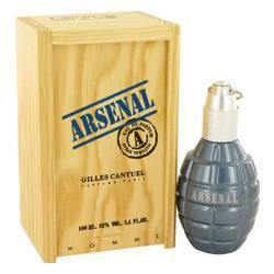 Arsenal Blue Eau De Parfum Spray By Gilles Cantuel - Fragrance JA