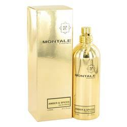 Montale Amber & Spices Eau De Parfum Spray (Unisex) By Montale - Fragrance JA