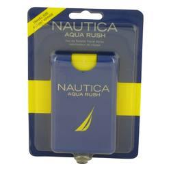 Nautica Aqua Rush Eau De Toilette Travel Spray By Nautica - Fragrance JA