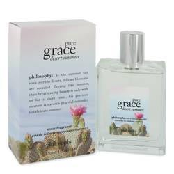 Pure Grace Desert Summer Eau De Toilette Spray By Philosophy - Fragrance JA